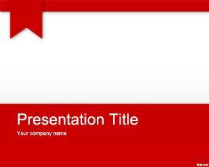 Free Red PowerPoint template for presentations #PowerPoint #templates