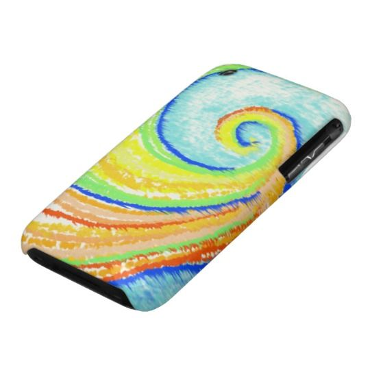 Rainbow Spiral to Happiness iPhone 3G/3Gs Case