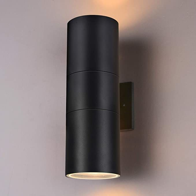 Outdoor Wall Light Bling Exterior Light Fixtures Stainless Steel Waterproof Ip65 Wall Mount Cylinde Outdoor Wall Lighting Wall Lights Exterior Light Fixtures Exterior light fixtures wall mount