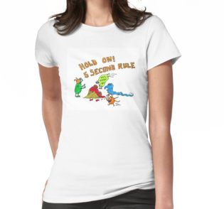 5 second rule shirt