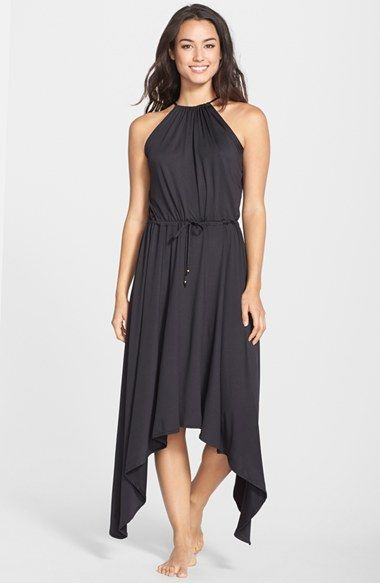 PILYQ 'Hampton' Handkerchief Hem Maxi Dress available at #Nordstrom