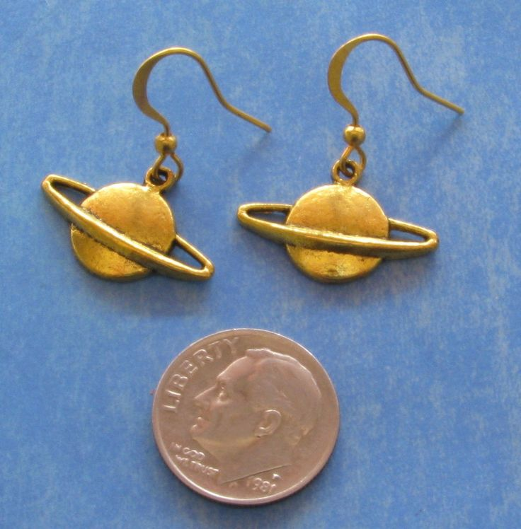 planet saturn earring - photo #43