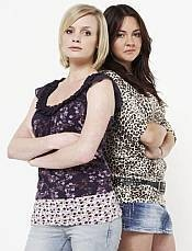 Daniella Jones and Stacey Slater played by Lauren Crace and Lacey Turner.