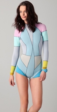 cynthia rowley wetsuit- not what I want, but a cute wetsuit is a nice idea
