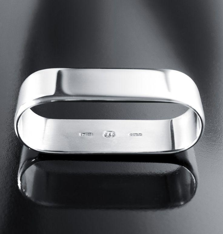 Kay Bojesen silver napkin ring. Kay Bojesen silver. Danish Design