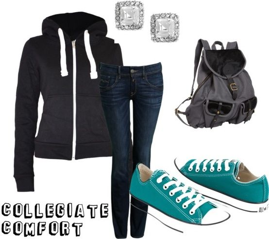 Four Must-Have Outfits for the Trendy College Girl   Her Campus... Hopefully not JUST for college