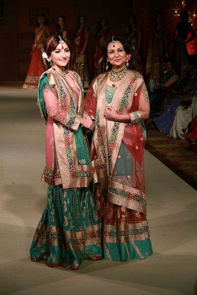 sharmila tagore, soha ali khan | When you start working on a subject, how do you decide the design ...