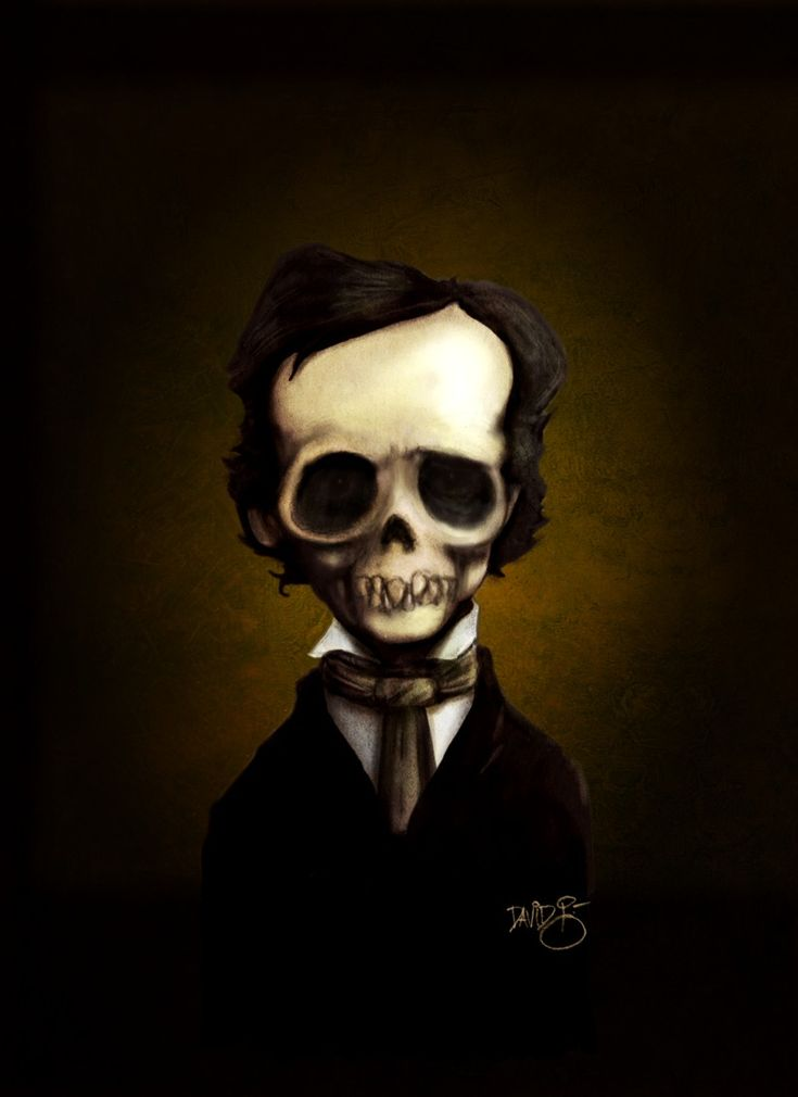 """edgar allen poe s the raven a And a good part of what makes ravens cool to the english speaking world is edgar allan poe's """"the raven""""."""