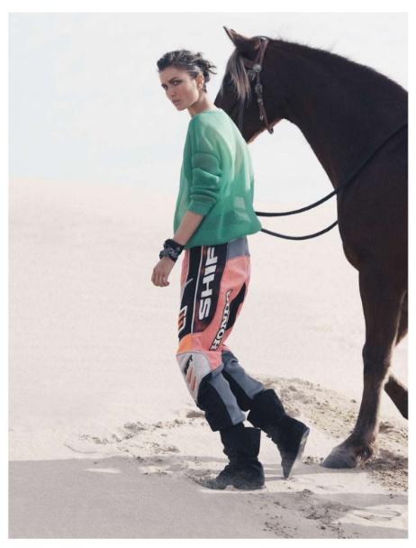 Vogue Paris | Editorial de Moda Maio 2013 | Andreea Diaconu por David Sims