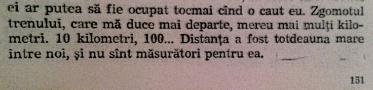 Distanțe...(Ioana-Anton Holban)