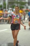 1/29 ING Miami Marathon. Eminem rapping me in to the finish. A happy birthday to me!