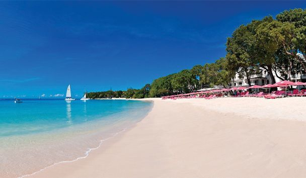 Sandy Lane Resort Barbados - One of the most beautiful beaches I have ever seen.