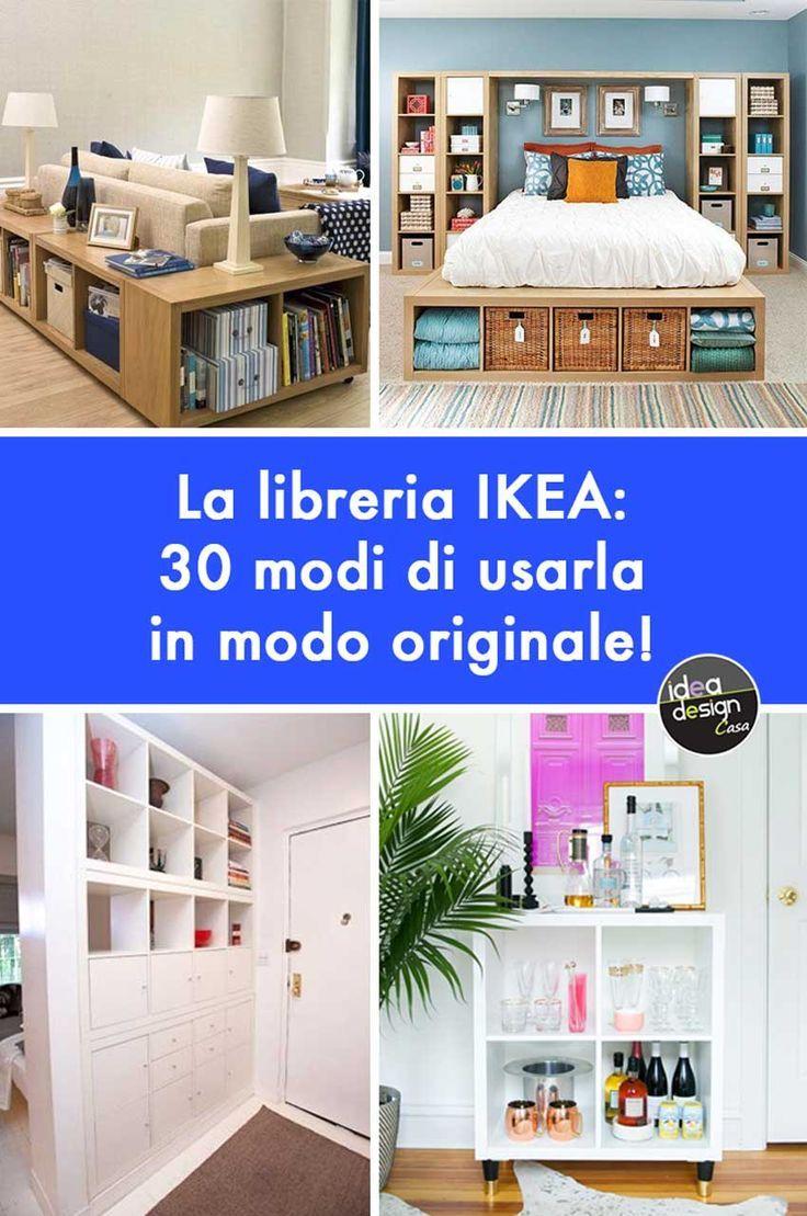 Libreria Ikea Ecco 30 Modi Di Utilizzarla In Modo Originale