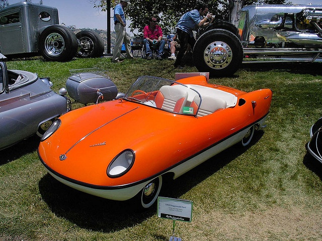 Go Speed Racer, go... 1959 Goggomobil Dart