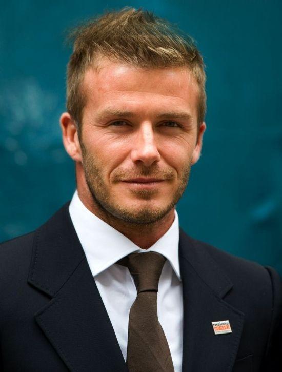 Coiffure court et coupe cheveux David Beckham