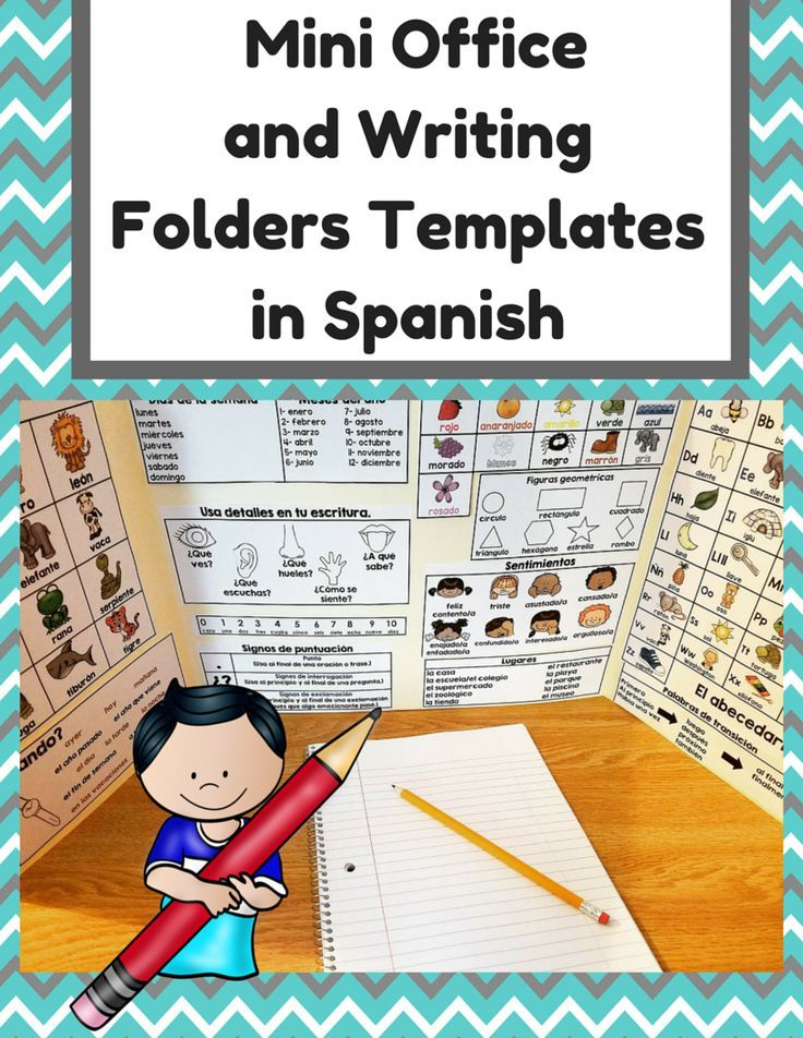 Everything you will need to set up writer's workshop in Spanish. (Taller de escritura), writing folders (carpetas de escritura) and mini writing offices (oficinas de escritura) in your Spanish immersion or bilingual classroom.