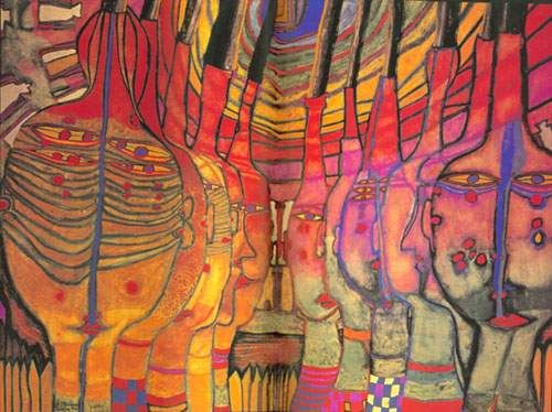 Hundertwasser, The end of the greeks
