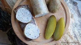 Kulinarne przygody Gatity: Wędzona domowa pasztetowa (wątrobianka)
