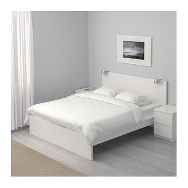 Ikea Malm Bed Frame High Adjule Sides Allow You To Use Mattresses Of Diffe