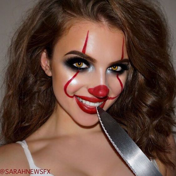 18 extravagant and easy halloween makeup looks