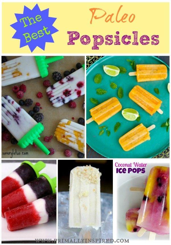 The 10 Best Paleo Popsicles | Primally Inspired #paleo
