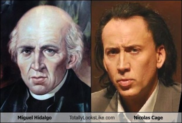 Mexican War Of Independence leader Miguel Hidalgo