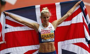 Britain's Lynsey Sharp urges athletics to impose life bans on drug cheats • 800m runner believes dopers are 'taking the mickey out of the sport' • Sharp calls for Russian athletes to miss this year's Olympics