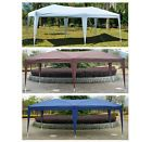 New 10' x 20' Outdoor Easy Pop Up Canopy Gazebo Cover Wedding Party Tent #ad