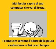 I computer lo sentono...