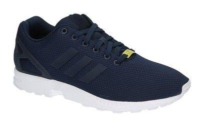 Adidas ZX FLUX blauwe lage sneakers