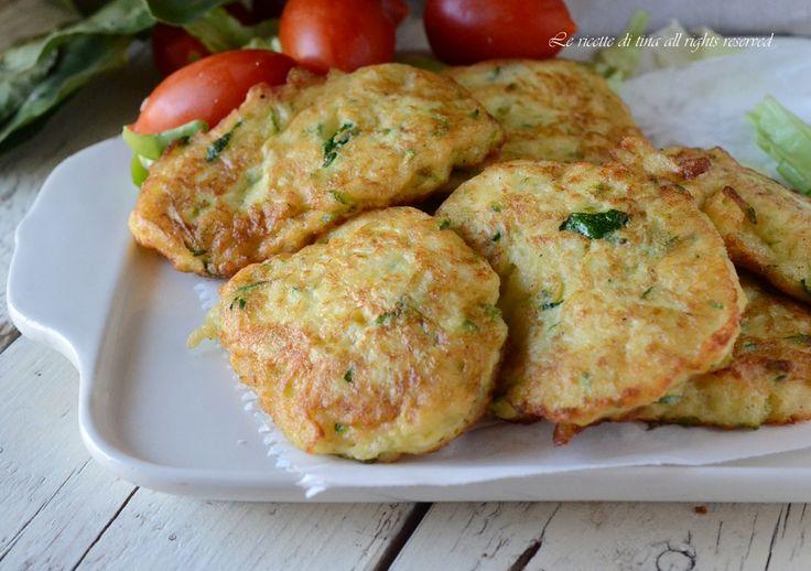 frittelle zucchine e patate