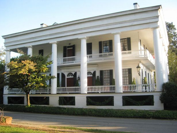 17 best images about homes architectural styles on for Greek revival architecture characteristics
