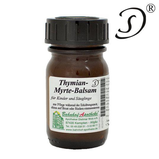 Thymian Myrte Balsam für Kind u. Säugling, 30ml Für Säuglinge und Kinder bei Schnupfen, von Hebammen empfohlen