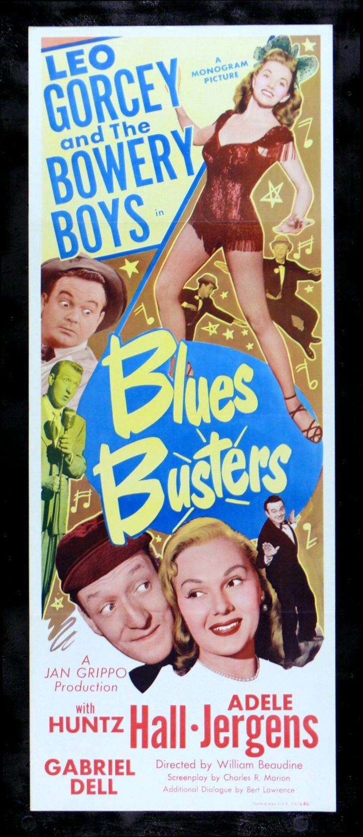 BLUES BUSTERS (1950) - - Leo Gorcey & The Bowery Boys - Monogram Pictures…