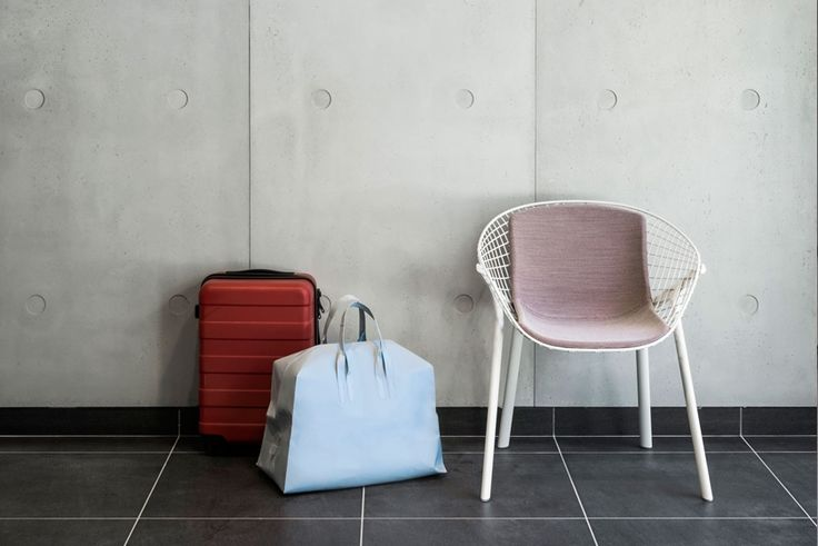 OKKO Hotel in Lyon with kobi chair  #design #furniture #architecture #interiors
