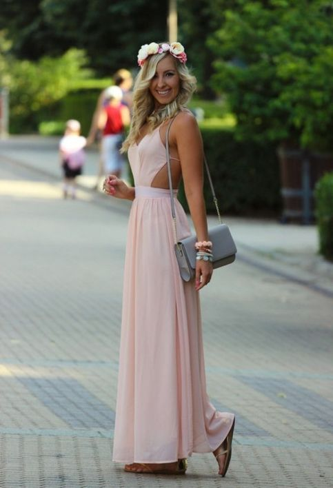 Long Prom Dress,Sexy Prom Dress,Chiffon Prom Dresses,Backless Formal Dresses