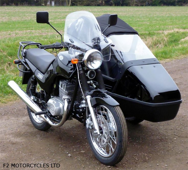 Jawa 350 Classic with Tour Sidecar. http://www.jawamotorcycles.co.uk/models.html