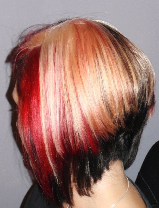 Short Red And Blonde Hair Hair Color Ideas And Styles For 2018