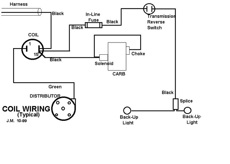 ignition coil wiring diagram 199 f1