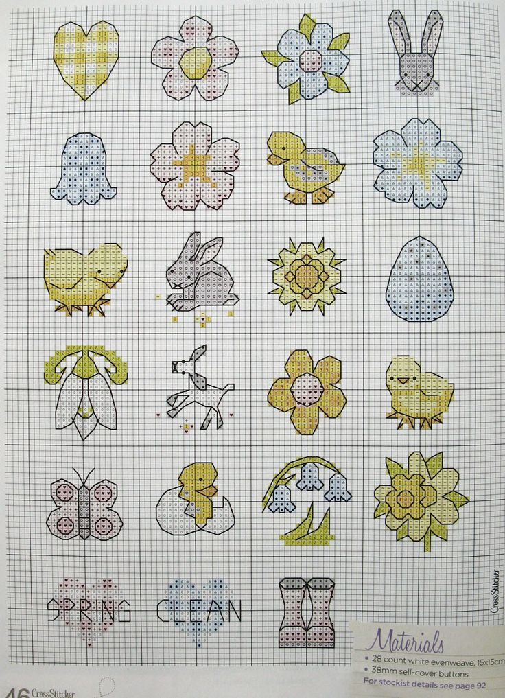 Spring/Easter Charts