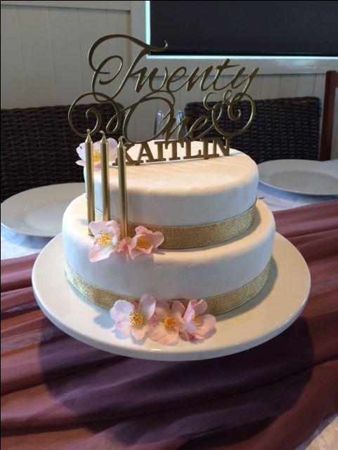 Cake Topper designed by Imagine If Creative Studios