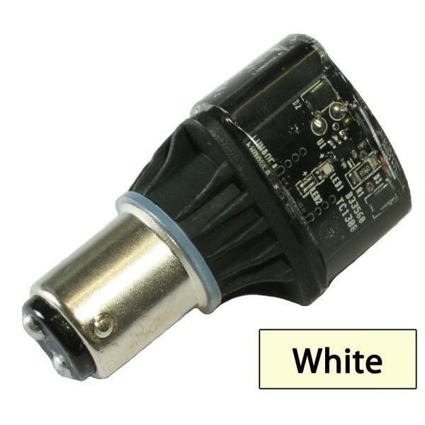 Lunasea Single-Color LED Replacement Bulb - 10-30VDC - White