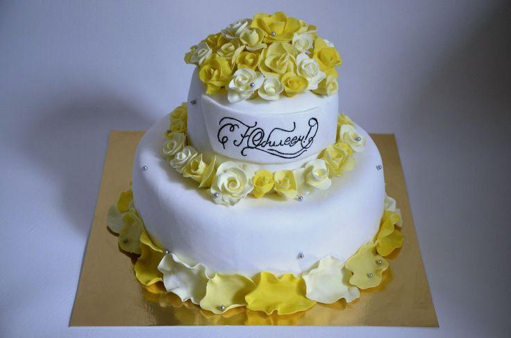 Юбилейный #торт_на_заказ_киев #юбилейные #бисквитный_торт #шоколадный_торт #комбинированный_торт