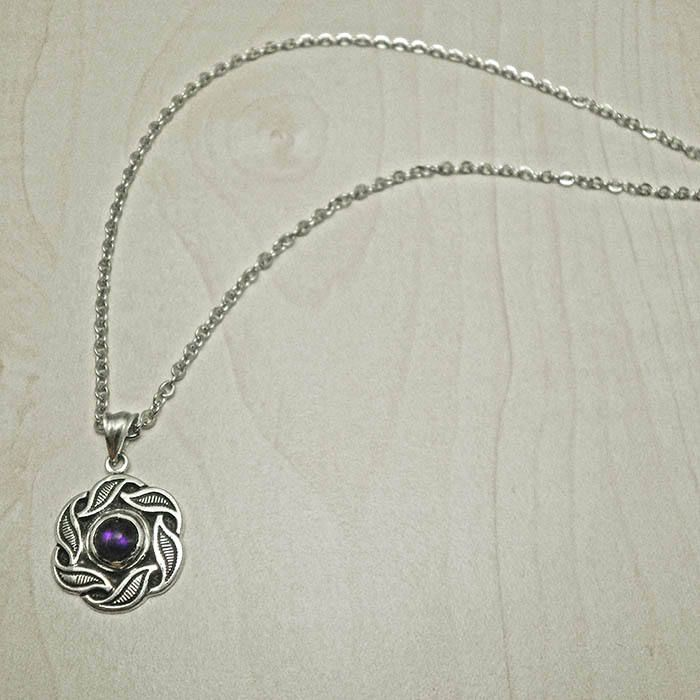 Excited to share the latest addition to my #etsy shop: Silver necklace,vintage necklace,amethyst necklace,silver leaf pendant,romantic necklace,vintage pendant,vintage jewelry,antique necklace http://etsy.me/2izl7MP #jewelry #necklace #silver #yes #women #amethyst #black #plantst