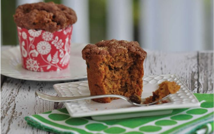 A cross between apple muffin and carrot cake, this moist gluten-free muffin is a crowd-pleaser as a lunch or dinner bread. The optional streusel topping makes it a hit for breakfast, too. This recipe can be made with egg replacement; see instructions below.