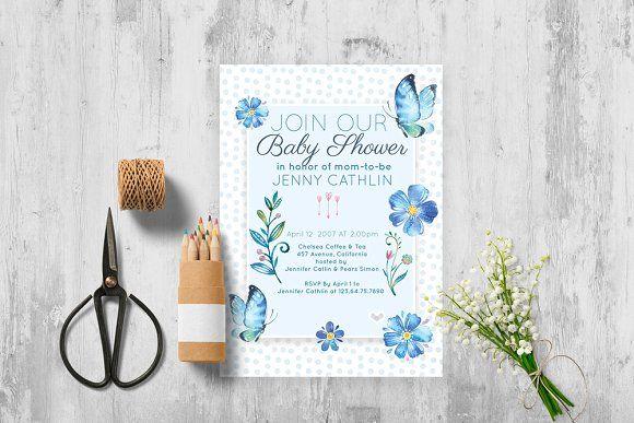 Baby Shower Invitation - Invitations (affiliate)