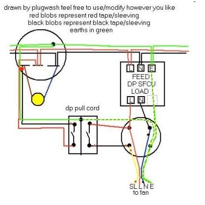 here is how you would actually wire it (you could also ...
