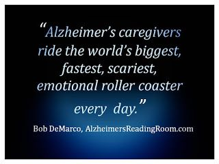 Alzheimer's The Emotional Roller Coaster Ride
