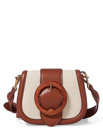 e52929d985 Polo Ralph Lauren Wood-Buckle Lennox Bag - Polo Ralph Lauren Shoulder Bags    Backpacks - Ralph Lauren France