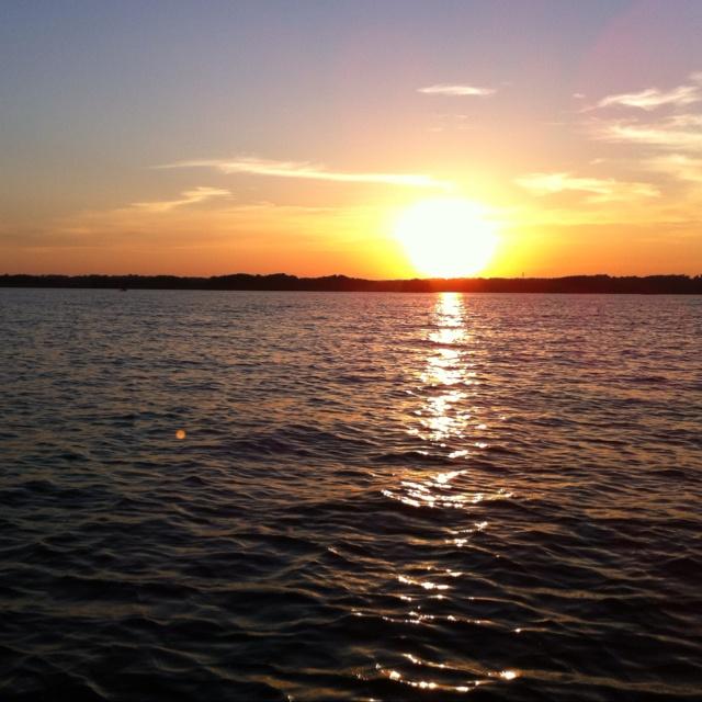 Sunset, Lake Lanier, GA - April, 2012